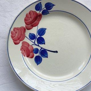 Antique flower plate.d