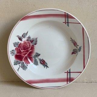 Sarreguemines soup plate.b