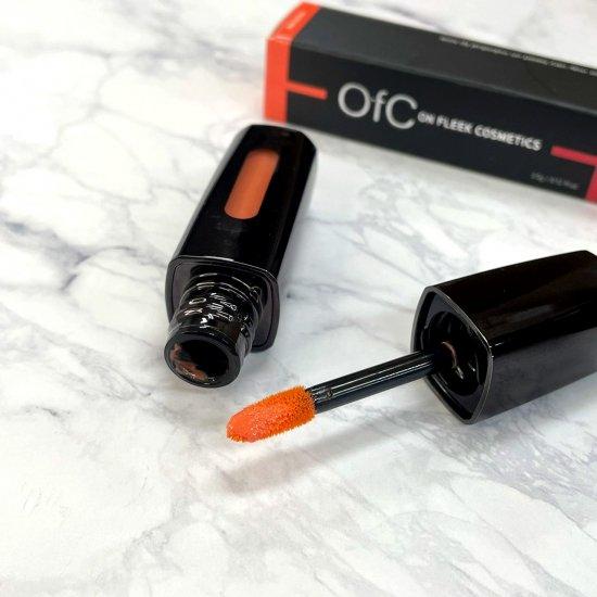 【OfC】オーエフシー 太陽光で色が変化する奇跡のリップグロストリートメントNo.03【Orange⇔Red】3.5g 送料無料