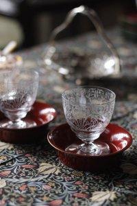 オールドバカラ リュリ(Lulli) 赤ワイングラス ペア