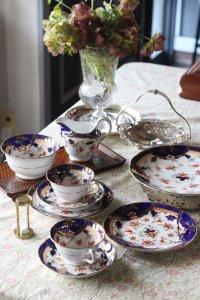 イギリス製  古伊万里の色絵風  ジャポニズムな tea for two set