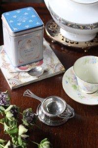 英国製 シルバープレート ティーストレーナー (茶こし)