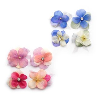 summerly flower ミニへアクリップセット:zoule(ゾーラ)