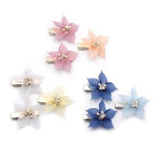 resort flowers ミニへアクリップセット:zoule(ゾーラ)
