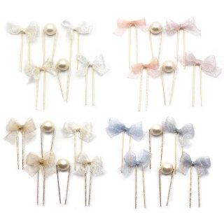 mini fluffy ribbon ミニUピンセット:zoule(ゾーラ)