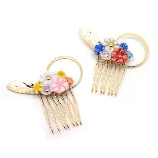 有田焼 Heaven's flower ヘアコーム:gargle(ガーグル)