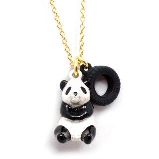 パンダのひとり遊び ネックレス:gargle(ガーグル)