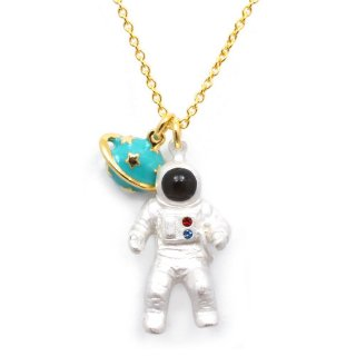 宇宙飛行士 ネックレス:gargle(ガーグル)