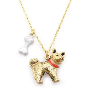 しば犬 ネックレス:gargle(ガーグル)
