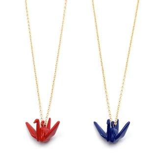カラー折りつる ネックレス:gargle(ガーグル)