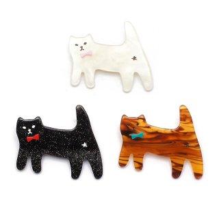funny cat ブローチ:gargle(ガーグル)