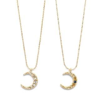 swing moon ネックレス:zoule(ゾーラ)