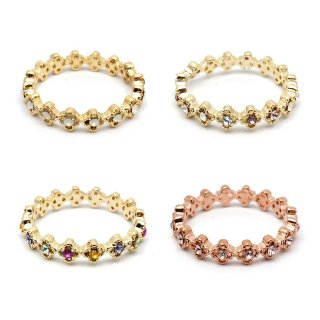 clasp flowers リング:zoule(ゾーラ)