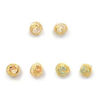 mini wire ball ピアス:zoule(ゾーラ)