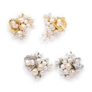 pearl bouquet ピアス:zoule(ゾーラ)
