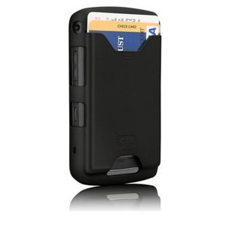 【ICカードが収納できるケース】 BlackBerry Storm2 9520/9550 ID Case Matte Black