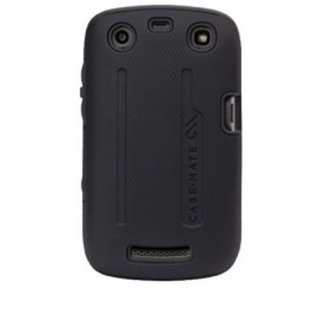 【衝撃に強いケース】 BlackBerry Curve 9350/9360/9370 Hybrid Tough Case Black/Black