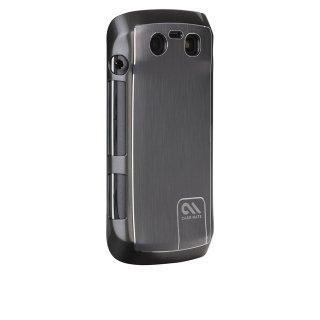 【金属調のハードケース】 BlackBerry Torch 9850/9860 BT Case - Brushed Aluminum Silver