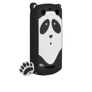 【パンダのソフトケース】 BlackBerry Curve 9350/9360/9370 Xing Panda Case Black