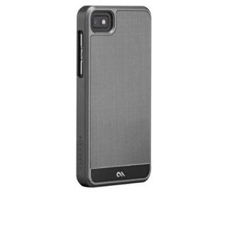 【金属調のハードケース】 BlackBerry Z10 FAUX Brushed Aluminum Effect Case Silver