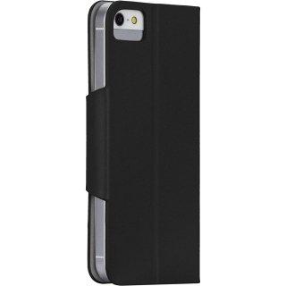 【スリムなスタンド機能付き手帳型ケース】 Samsung GALAXY Note3 SCL22/SC-01F Slim Folio ブラック