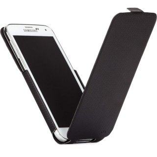 【縦開き型スリムケース】 Samsung GALAXY S5 SCL23/SC-04F Slim Flip Case Black