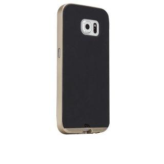 【2種の素材を使った薄いケース】 GALAXY S6 SC-05G Slim Tough Case Black/Gold