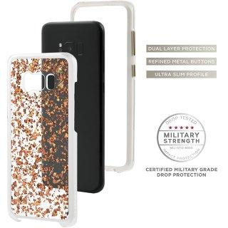 【Galaxy S8+ ローズゴールドを大胆に使用したケース】 Galaxy S8+ SC-03J/SCV35 Karat Case Rose Gold