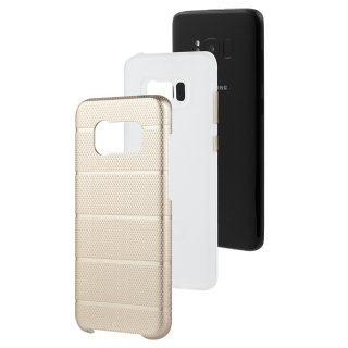 【Galaxy S8+ 2層構造でしっかりと保護】 Galaxy S8+ SC-03J/SCV35 Hybrid Tough Mag Case Champagne/Clear