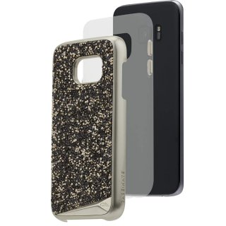 【Galaxy S7 edge 水晶を使用】 Galaxy S7 edge SC-02H/SCV33 Brilliance Case  Champagne ブリリアンス ケース  シャンパン