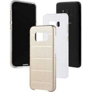 【Galaxy S8 2層構造でしっかりと保護】 Galaxy S8 SC-02J/SCV36 Hybrid Tough Mag Case  Champagne