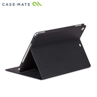 【スタンド機能付きスリムケース】 iPad Air (iPad5) スリムタイプケース ブラック