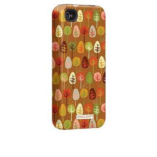 【衝撃に強いデザインケース】 iPhone 4S/4 Hybrid Tough Case Cosy Forest/Autumn Glory