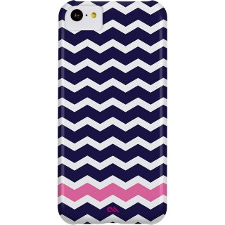 【ジグザグ模様のハードケース】 iPhone 5c Barely There Prints Case Ziggy Zag
