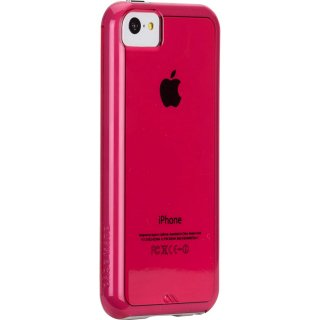 【衝撃に強いタフなケース】 iPhone 5c Hybrid Tough Naked Case Clear Pink / White