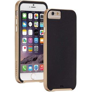 【iPhone6s/6 ケース デュアルレイヤーでスリム】 iPhone6s/6 Slim Tough Case Black / Gold スリム タフ ケース