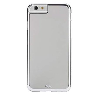 【iPhone6s/6 ケース 薄型 シンプル】 iPhone6s/6 Barely There Case Metallic Silver ベアリーゼア・スリム ハードケース