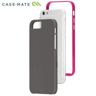 【iPhone6s/6 ケース デュアルレイヤーでスリム】 iPhone6s/6 Slim Tough Case Titanium / Pink スリム タフ ケース