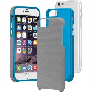 【iPhone6s/6 ケース 2層構造でしっかりと保護】 iPhone6s/6 Hybrid Tough Case Grey / Blue ハイブリッド タフ ケース