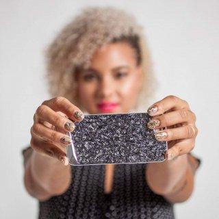 【iPhone6s Plus/6 Plus ケース 水晶を使用】 iPhone6s Plus/6 Plus Brilliance Case Amethyst