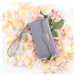 【iPhone6s Plus/6 Plus ケース レベッカ・ミンコフ】 REBECCA MINKOFF Leather Folio Wristlet  Bluebell