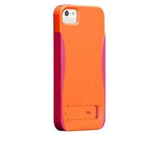 【スタンド機能付きケース】 iPhone SE/5s/5 POP! with Stand Case Orange/Pink