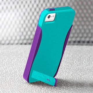 【スタンド機能付きケース】 iPhone SE/5s/5 POP! with Stand Case Pool Blue /Violet Purple