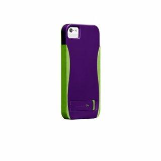 【スタンド機能付きケース】 iPhone SE/5s/5 POP! with Stand Case Purple/Chartreuse Green