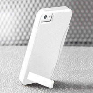 【スタンド機能付きケース】 iPhone SE/5s/5 POP! with Stand Case White/White