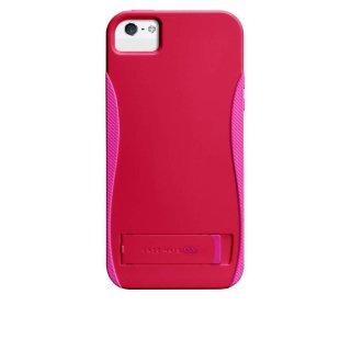 【スタンド機能付きケース】 iPhone SE/5s/5 POP! with Stand Case Ruby Red/Shocking Pink