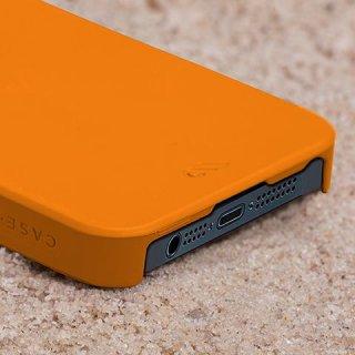 【スリムタイプハードケース】 iPhone SE/5s/5 Barely There Case Tangerine Orange