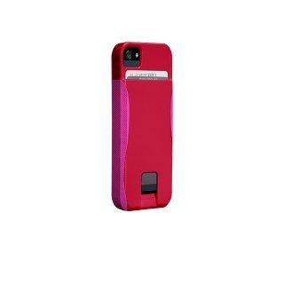 【ICカードが収納出来るケース】 iPhone SE/5s/5 POP! ID Case Ruby Red /Shocking Pink