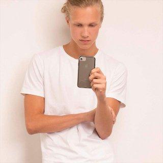 【iPhone ケース 2層構造で保護】 iPhone8 Plus/7 Plus/6s Plus/6 Plus Hybrid Tough Naked Case Smoke / Black