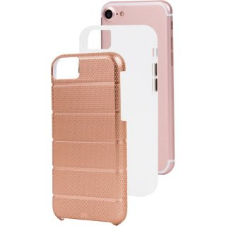 iPhone8 Plus ケース 2層構造で保護 iPhone8 Plus/7 Plus/6s Plus/6 Plus Hybrid Tough Mag Case Rose Gold/Clear